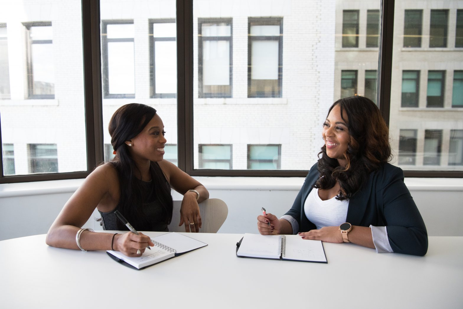 professionals-talking-interview